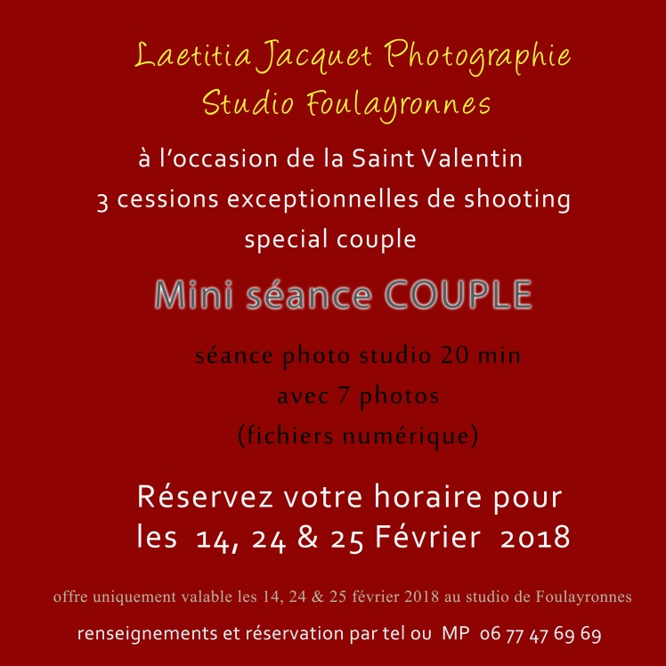 mini seance COUPLE ST VALENTIN 2018